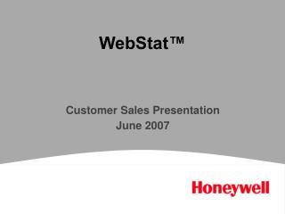 WebStat™