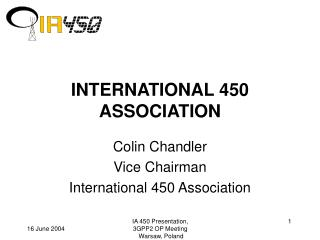 INTERNATIONAL 450 ASSOCIATION