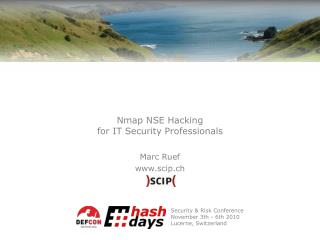 Nmap NSE Hacking for IT Security Professionals
