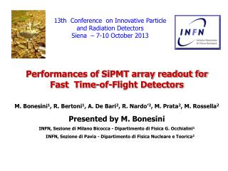 Performances of SiPMT array readout for Fast  Time-of-Flight Detectors