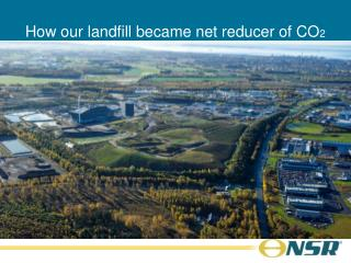 How our landfill became net reducer of CO 2