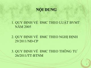 NỘI DUNG