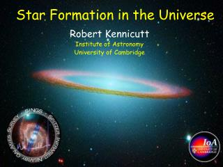 Star Formation in the Universe