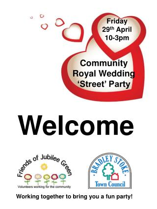 Community  Royal Wedding  'Street' Party