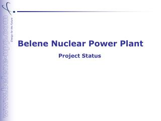Belene Nuclear Power Plant