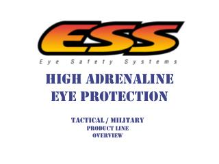High Adrenaline Eye Protection