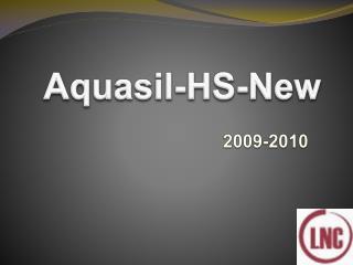 Aquasil HS new