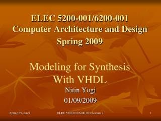 Nitin Yogi 01/09/2009