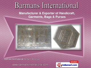Handicrafts by Barman International