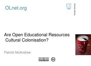 Are Open Educational Resources  Cultural Colonisation?