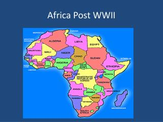 Africa Post WWII