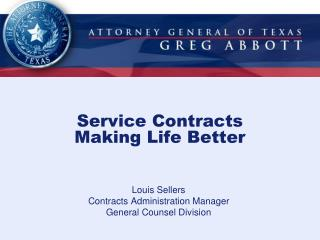 Service Contracts Making Life Better