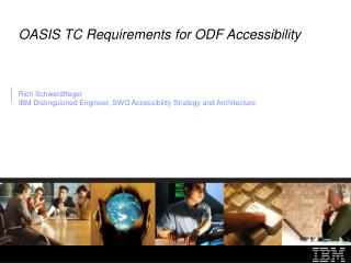 OASIS TC Requirements for ODF Accessibility