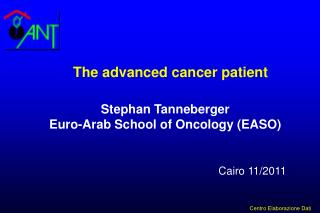 Stephan Tanneberger Euro-Arab School of Oncology (EASO)