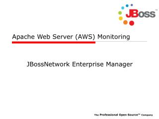 Apache Web Server (AWS) Monitoring