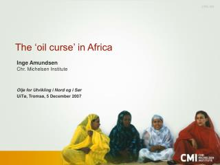 The 'oil curse' in Africa