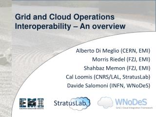 Grid and Cloud Operations Interoperability – An overview