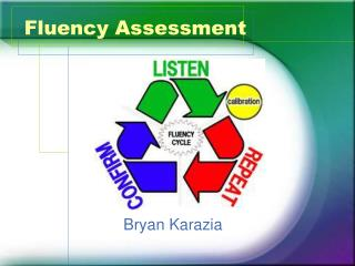 Fluency Assessment
