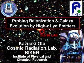 Probing Reionization & Galaxy Evolution by High-z Lyα Emitters
