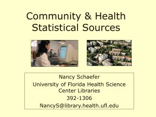Community & Health Statistical Sources