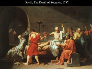 David, The Death of Socrates, 1787