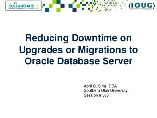 Reducing Downtime on Upgrades or Migrations to Oracle Database Server
