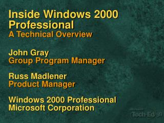 Windows 2000 Family