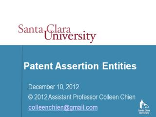 There are many ways to view patent assertion entities