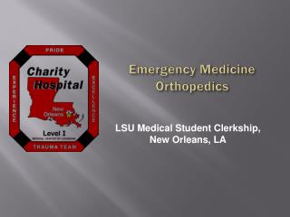 Emergency Medicine Orthopedics