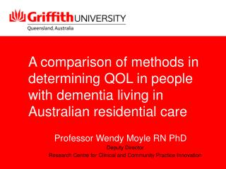 Why Measure QOL in PWD?