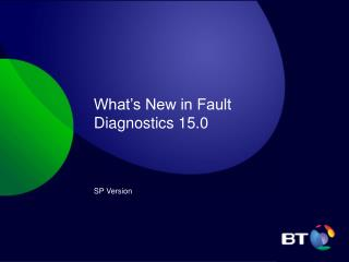 What's New in Fault Diagnostics 15.0