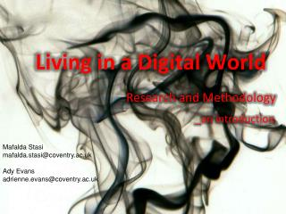 Living in a Digital World