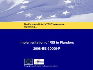 Implementation of RIS in Flanders 2008-BE-30000-P