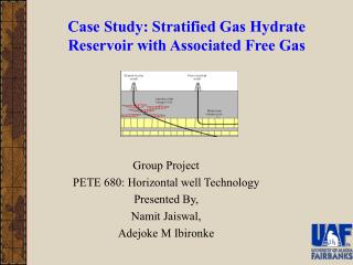 Case Study: Stratified Gas Hydrate Reservoir with Associated Free Gas