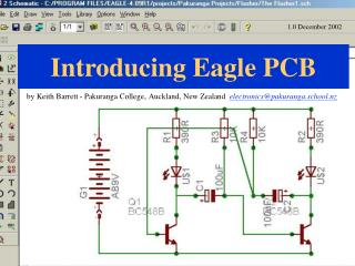 Introducing Eagle PCB