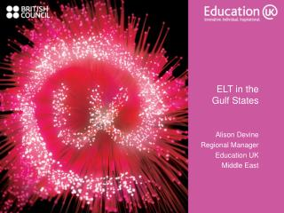 ELT in the  Gulf States