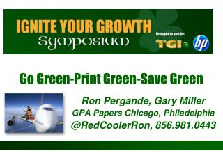 Go Green-Print Green-Save Green