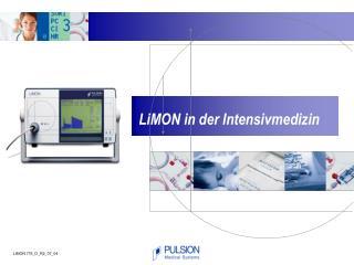 LiMON in der Intensivmedizin