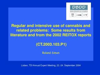 Lisbon, TDI Annual Expert Meeting, 22.-24. September 2004