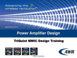 Power Amplifier Design