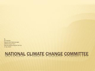 National Climate Change Committee