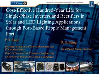 Cost-Effective Hundred-Year Life for Single-Phase Inverters and Rectifiers in Solar and LED Lighting Applications throug