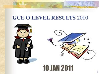 GCE O LEVEL RESULTS  2010