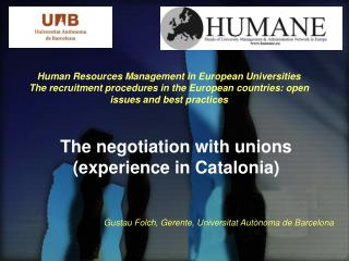 Human Resources Management in European Universities