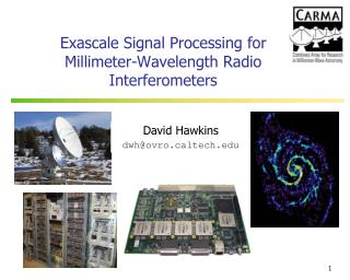 Exascale Signal Processing for Millimeter-Wavelength Radio Interferometers