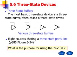 5.6 Three-State Devices