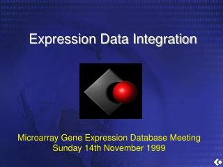 Expression Data Integration