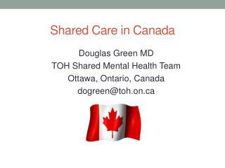 Shared Care in Canada