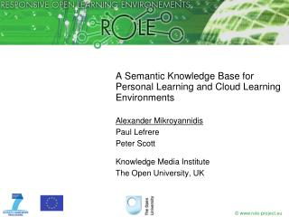 A Semantic Knowledge Base for Personal Learning and Cloud Learning Environments