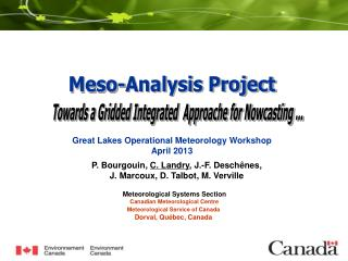 Meso-Analysis Project